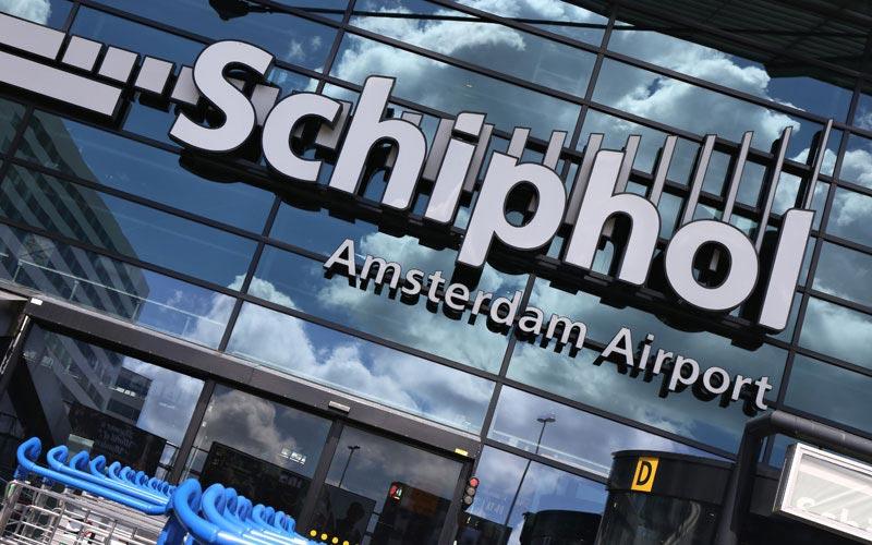 Flughafen Amsterdam Schiphol - Eingangsbereich