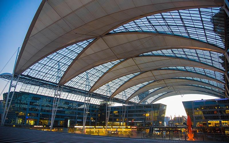 Parken am Flughafen München