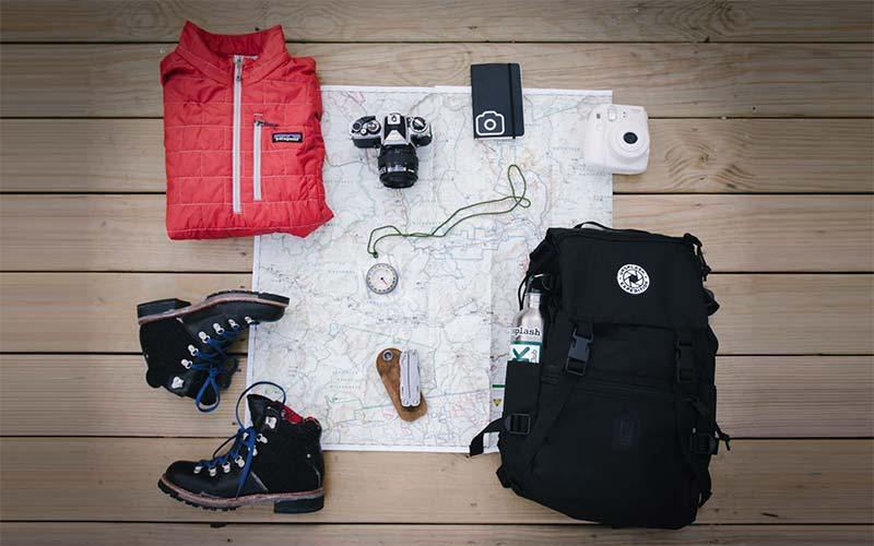 Rucksack für Backpacker im Carry-On