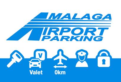 Malaga Airport Parking Parkplatz Valet - Parken am Flughafen Malaga