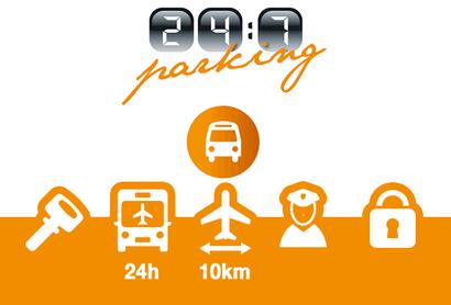 247 Parking Schiphol Parkplatz - Parken am Flughafen Amsterdam - Schiphol