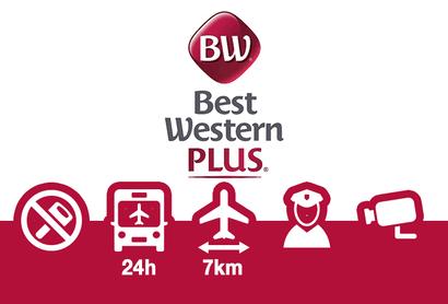 Best Western Plus Park Airport Hotel Parkplatz - Parken am Flughafen Stockholm