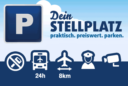 Dein Stellplatz Parkplatz Shuttle Berlin Brandenburg - Parken am Flughafen Berlin / Brandenburg