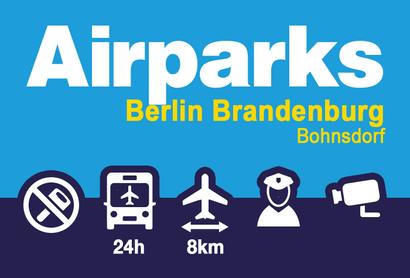 Airparks Parkplatz Bohnsdorf BER - Parken am Flughafen Berlin / Brandenburg