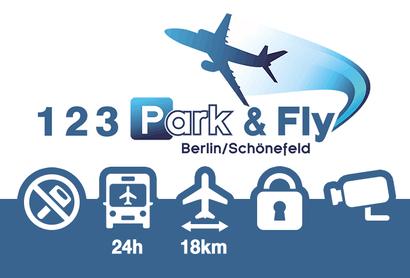 123 Park&Fly Shuttle Parkplatz Berlin Brandenburg (Hauptterminal) - Parken am Flughafen Berlin / Brandenburg