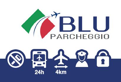 Blu Parcheggio Parkplatz Bergamo – ohne Schlüsselabgabe - Parken am Flughafen Bergamo