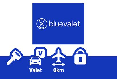 Blue Valet Parkplatz - Parken am Flughafen Bordeaux - Merignac