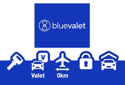 BLUE VALET Parking Intérieur service Voiturier