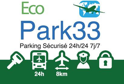 Ecopark33 Parkplatz - Parken am Flughafen Bordeaux - Merignac