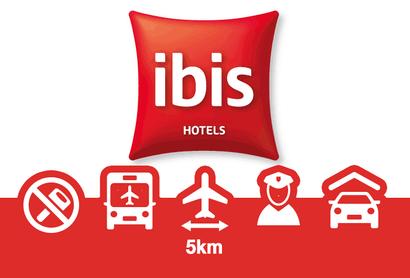 Hotel Ibis Mulhouse Basel Airport Tiefgarage - Parken am Flughafen Basel