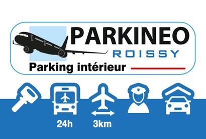 Parkineo Roissy Parking Intérieur