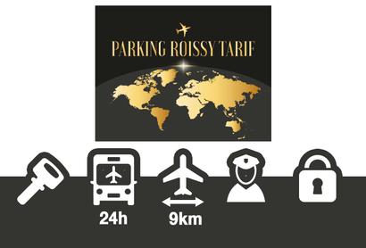 Parking Roissy Tarif Parkplatz CDG - Parken am Flughafen Paris - Charles de Gaulle