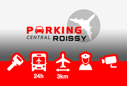 Parking Central Roissy Parkplatz - Parken am Flughafen Paris - Charles de Gaulle