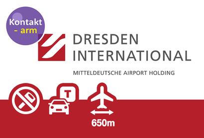 Flughafen Dresden P4 Außenparkplatz - Parken am Flughafen Dresden