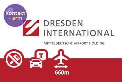 Flughafen Dresden P2 Außenparkplatz - Parken am Flughafen Dresden