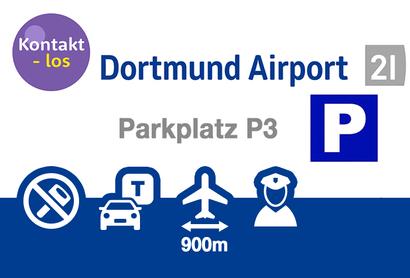 Dortmund Airport Parkeerplaats P6 - Parkeren bij Luchthaven Dortmund