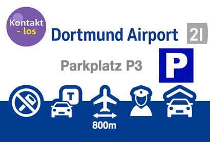 Dortmund Airport Parkeergarage P5 - Parkeren bij Luchthaven Dortmund