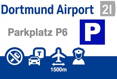 Dortmund Airport Parkeerplaats P3 - Parkeren bij Luchthaven Dortmund