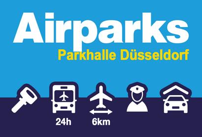 Airparks Parkeergarage Düsseldorf Rath