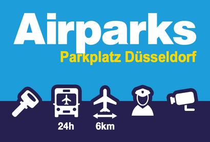 Airparks Parkeerplaats Düsseldorf Rath