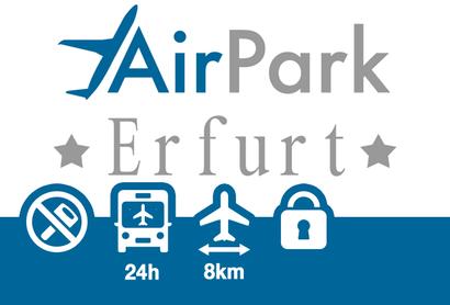 Airpark Parkplatz Erfurt - Parken am Flughafen Erfurt