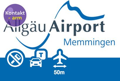 Allgäu Airport Parkplatz P1 - Parken am Flughafen Memmingen
