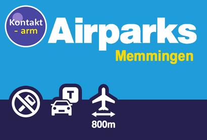 Airparks Parkplatz Memmingen Schwabenstraße - Parken am Flughafen Memmingen