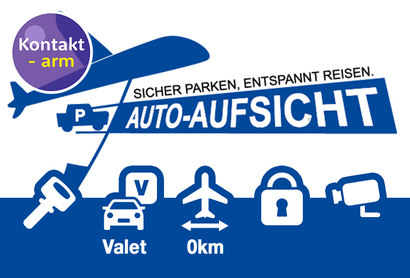 Auto-Aufsicht Parkeerplaats Frankfurt Valet - Parkeren bij Luchthaven Frankfurt