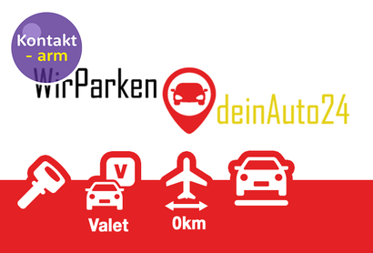 Wir parken Dein Auto 24 Valet Parkeerplaats Frankfurt - Parkeren bij Luchthaven Frankfurt