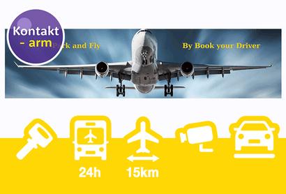 Book Your Driver Valet Parkeergarage Eschborn - Parkeren bij Luchthaven Frankfurt