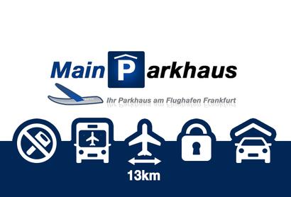 Mainparkhaus Parkeergarage Frankfurt - Parkeren bij Luchthaven Frankfurt
