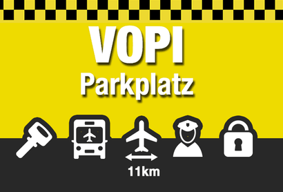 VOPI Parkplatz Hamburg - Parken am Flughafen Hamburg