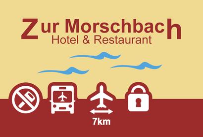 Hotelparkplatz Zur Morschbach - Parken am Flughafen Frankfurt-Hahn