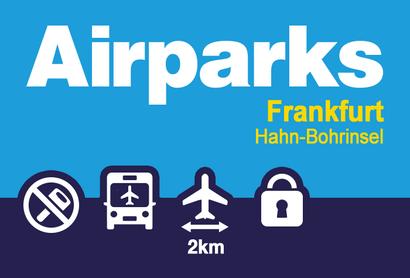Airparks Parkplatz Hahn-Bohrinsel - Parken am Flughafen Frankfurt-Hahn
