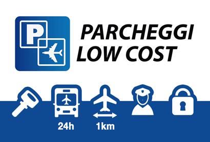 Parcheggi Low Cost Parkplatz Linate - Parken am Flughafen Mailand - Linate