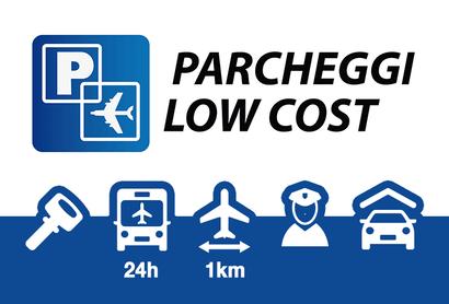 Parcheggi Low Cost überdachter Parkplatz Linate - Parken am Flughafen Mailand - Linate