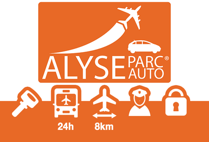 Alyse Parc Auto Parkplatz Shuttle Lyon - Parken am Flughafen Lyon