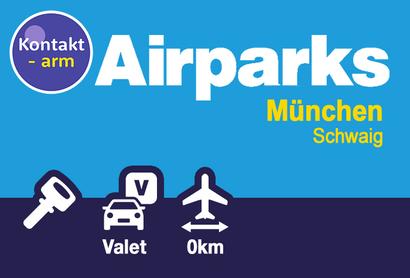 Airparks Parkplatz München Valet - Parken am Flughafen München