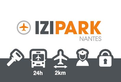 Izipark Nantes Parking Extérieur - Parking au Aéroport de Nantes