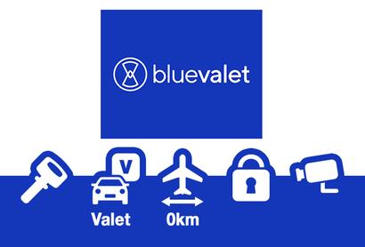 BLUE VALET Nantes – Parking Extérieur + Service Voiturier - Parking au Aéroport de Nantes