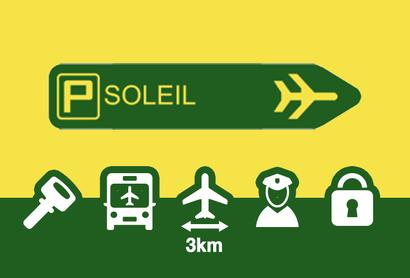 Parkplatz Parking Soleil Orly - Parken am Flughafen Paris - Orly