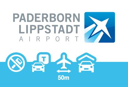 Paragon Parkhaus Paderborn - Parken am Flughafen Paderborn / Lippstadt