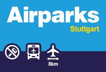 Airparks Parkhaus Stuttgart Oberdeck - Parken am Flughafen Stuttgart