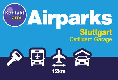 Airparks Garage Ostfildern - Parken am Flughafen Stuttgart