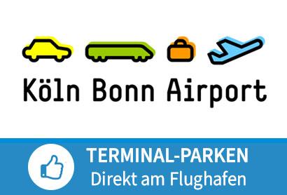 P-Nord Onlinetarif - Parken am Flughafen Köln Bonn