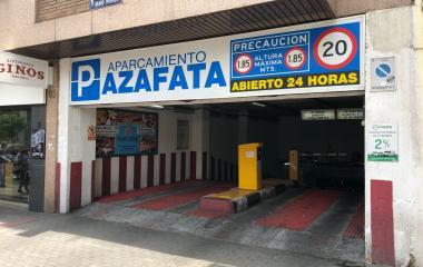 Edificio Azafata - Städteparken Madrid
