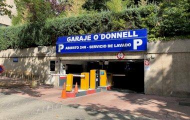 Garaje O'Donnell - Städteparken Madrid