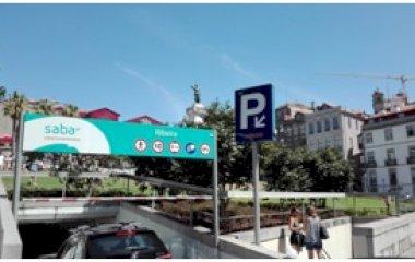 SABA Parque da Ribeira – Praça do Infante - Städteparken Porto