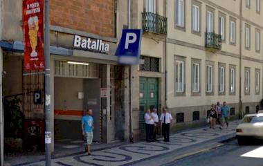 Parque da Batalha - Städteparken Porto