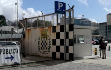 Parque Exterior do Estádio de Bessa - Städteparken Porto